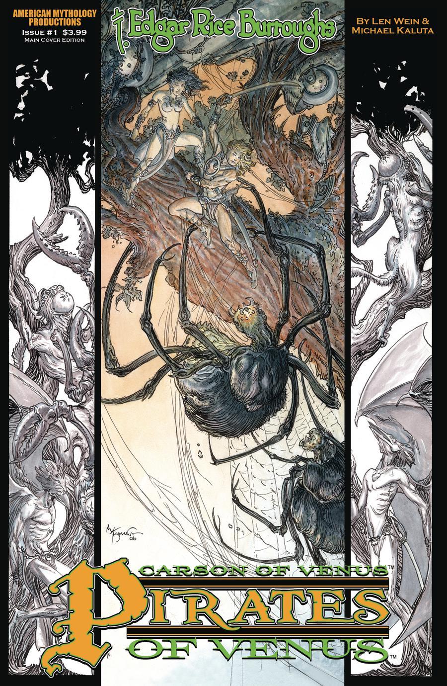Carson Of Venus Pirates Of Venus #1 Cover A Regular Michael William Kaluta Cover