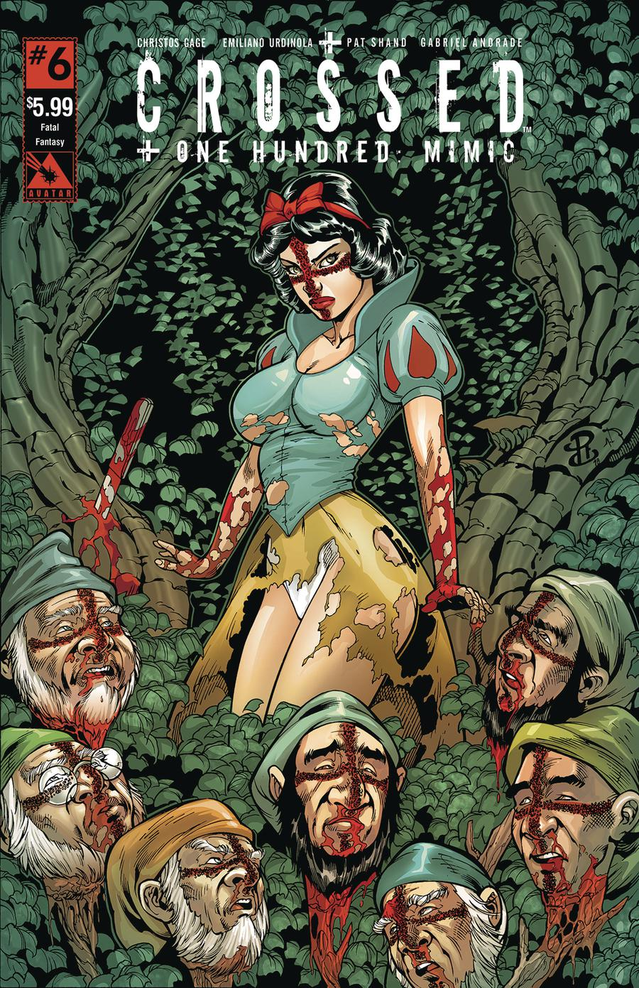 Crossed Plus 100 Mimic #6 Cover D Fatal Fantasy Cover