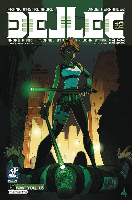 Dellec Vol 2 #2 Cover A Regular Micah Gunnell Cover