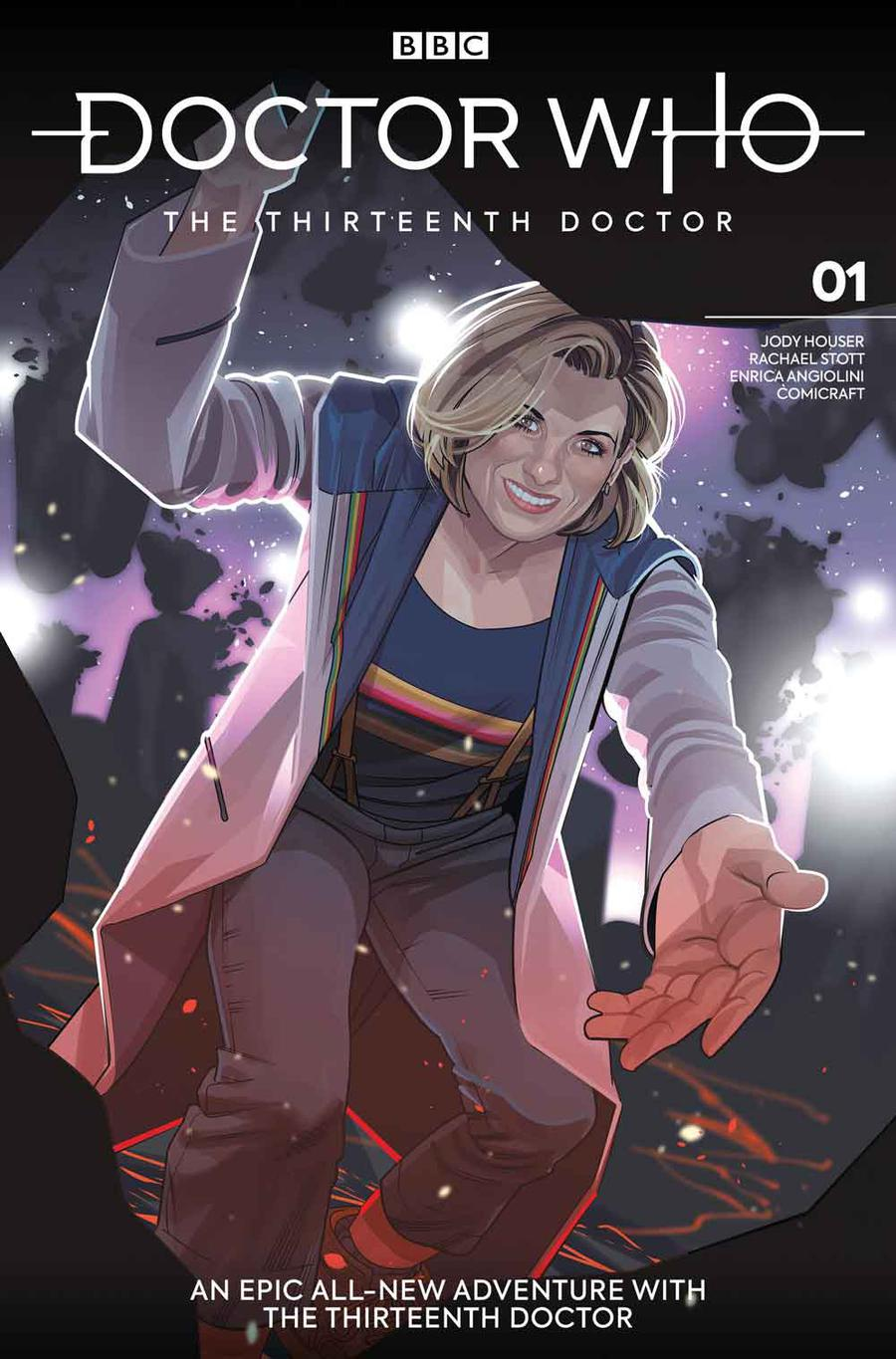 Doctor Who 13th Doctor #1 Cover D Variant Rachael Stott Cover