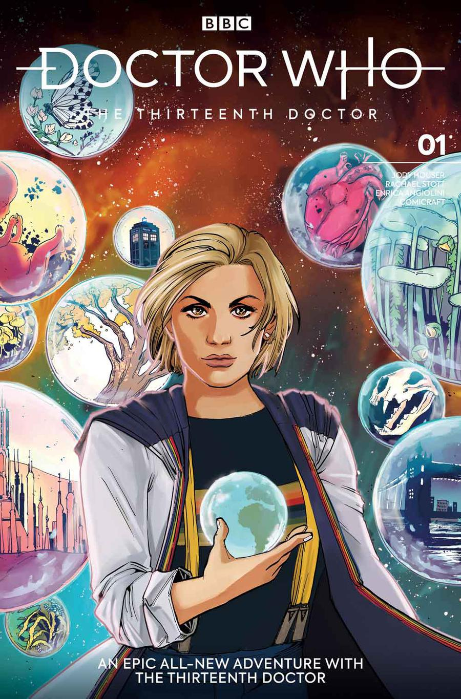 Doctor Who 13th Doctor #1 Cover E Variant Sanya Anwar Cover
