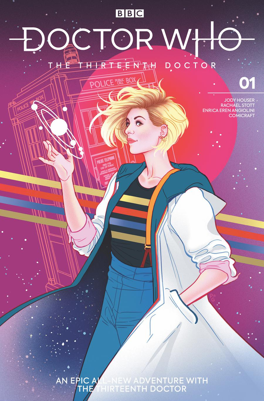 Doctor Who 13th Doctor #1 Cover F Variant Paulina Ganucheau Cover