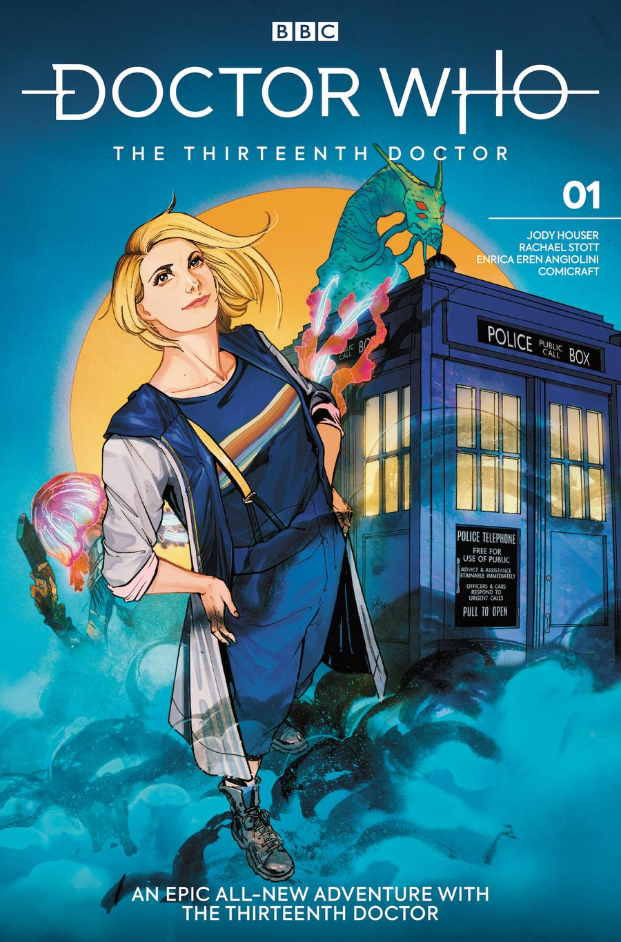 Doctor Who 13th Doctor #1 Cover H Variant Ariela Kristantina & Jessica Kholinne Cover