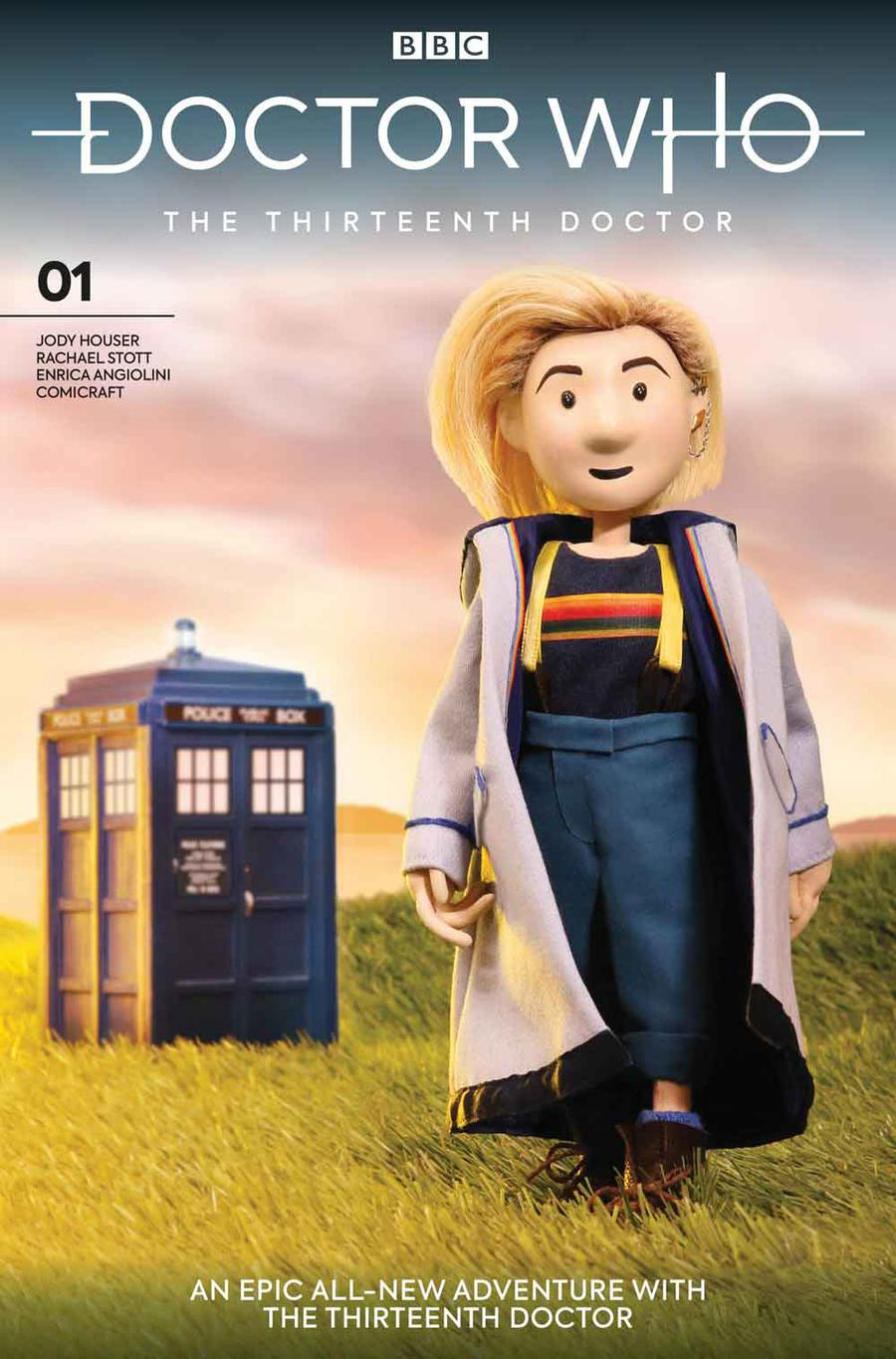 Doctor Who 13th Doctor #1 Cover J Variant Doctor Puppet Cover