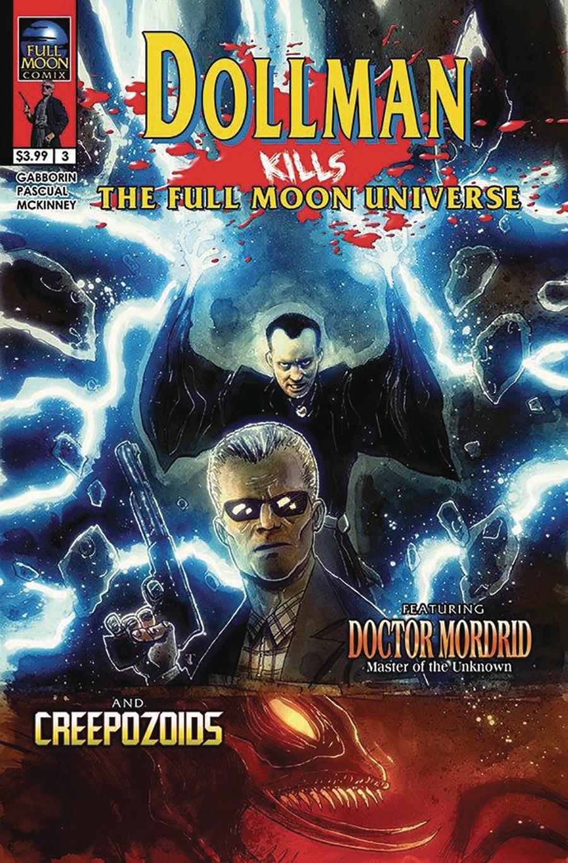 Dollman Kills The Full Moon Universe #3 Cover A Regular Ben Templesmith Cover