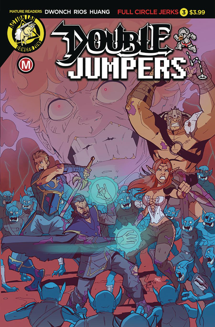 Double Jumpers Full Circle Jerks #3 Cover A Regular Sergio Rios Cover