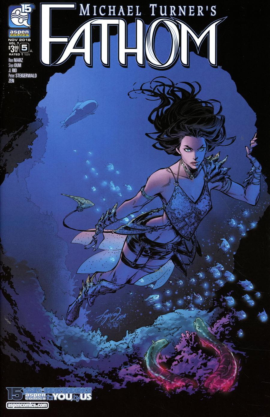 Fathom Vol 5 #5 Cover A Regular Siya Oum Cover