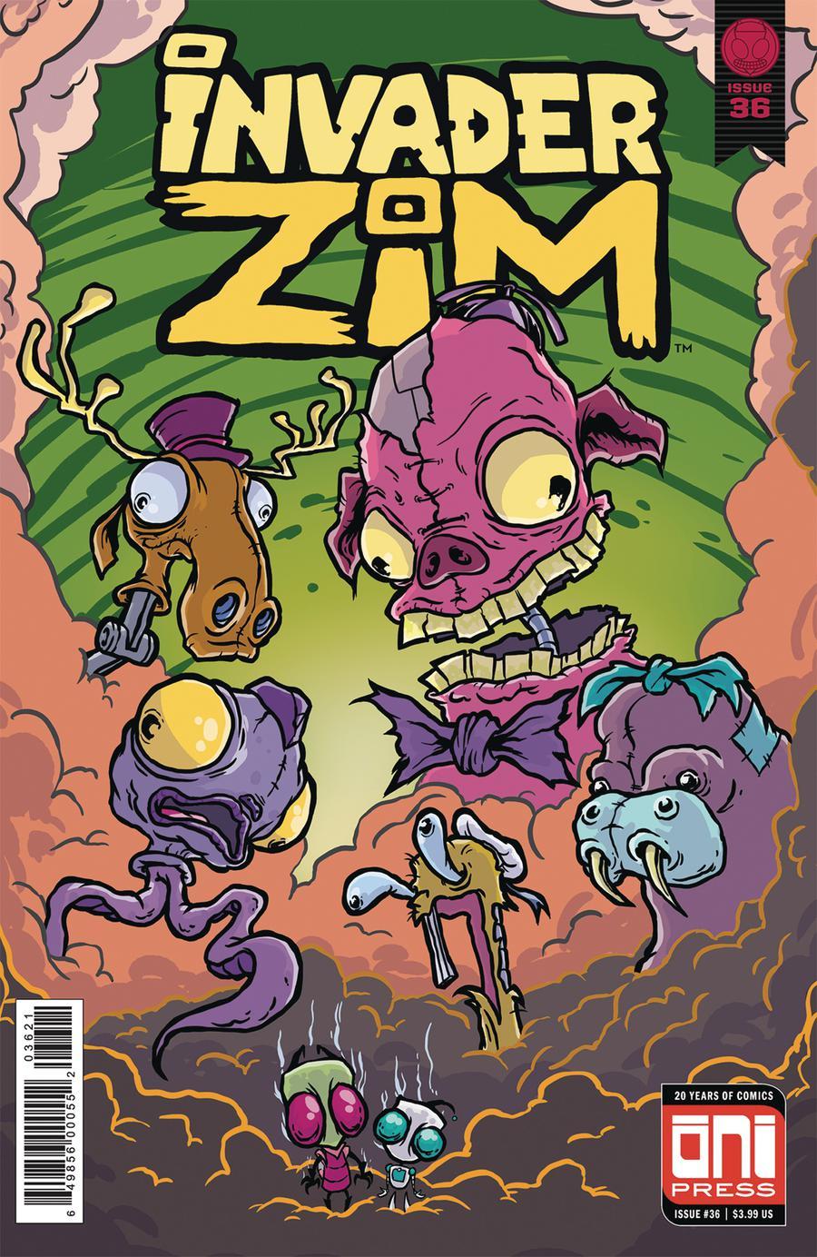 Invader Zim #36 Cover B Variant Jeff Sornig Cover