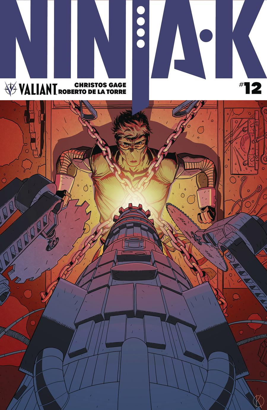 Ninja-K #12 Cover A Regular Kano Cover