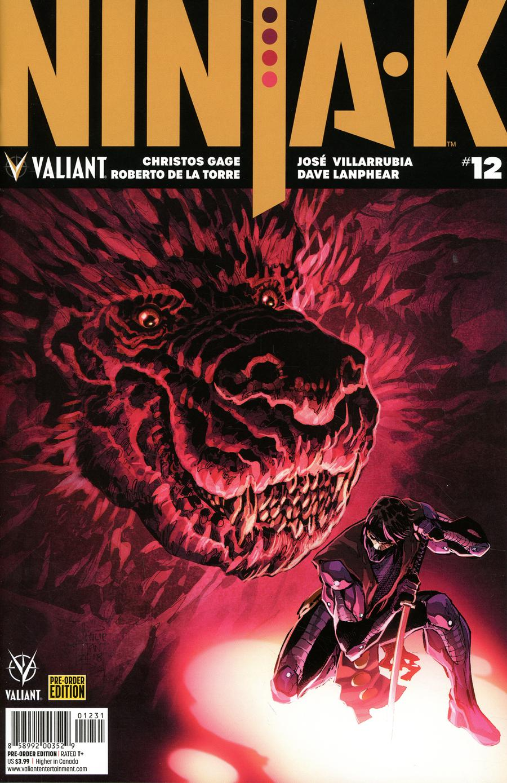 Ninja-K #12 Cover C Variant Philip Tan Cover