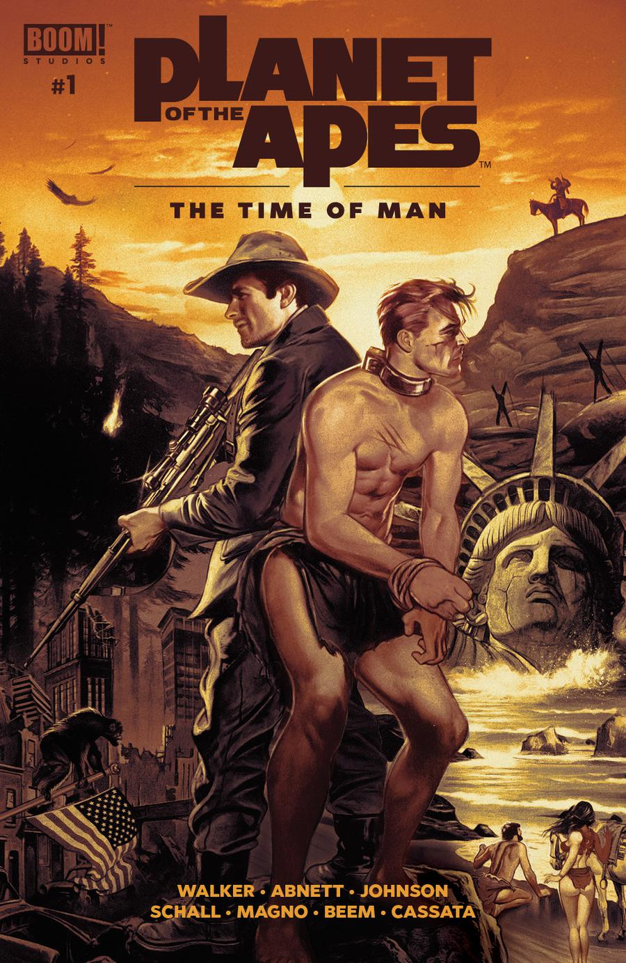 Planet Of The Apes Time Of Man #1 Cover A Regular Fay Dalton & John Keaveney Cover