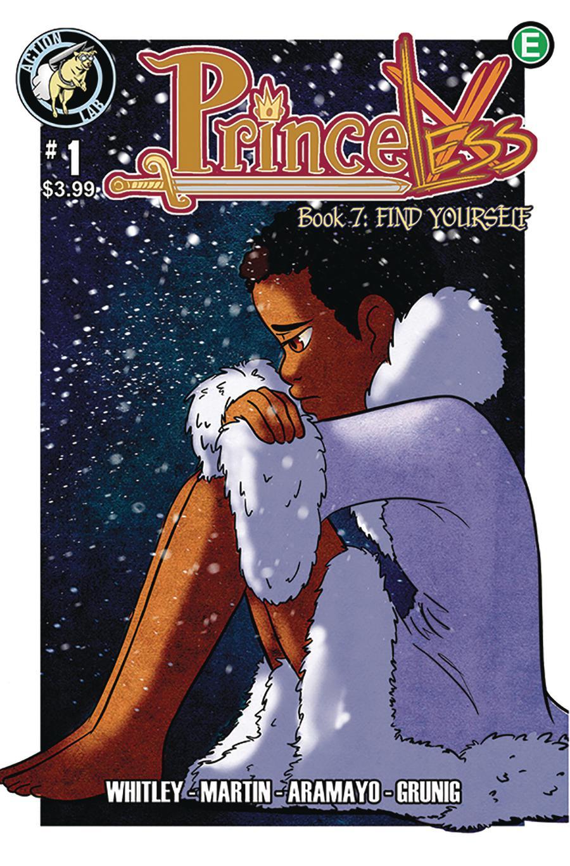 Princeless Find Yourself #1 Cover A Regular Onyinye Anakor Cover