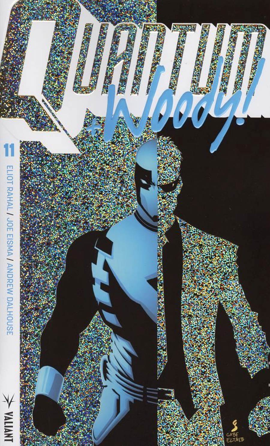 Quantum & Woody Vol 4 #11 Cover B Variant Geoff Shaw Extreme Ultra-Foil Cover