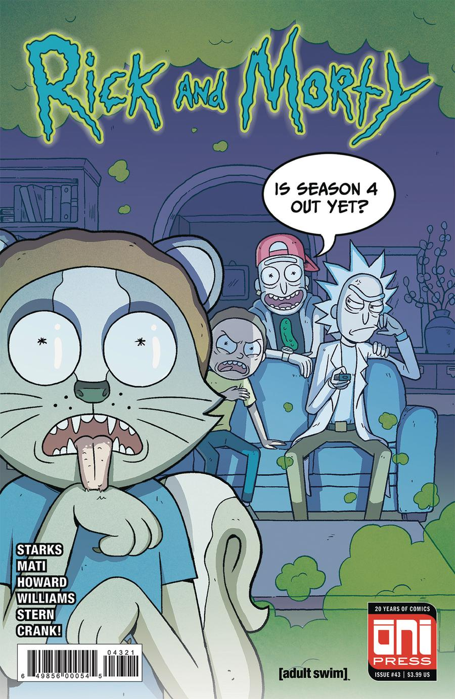 Rick And Morty #43 Cover B Variant Sabrina Mati Cover