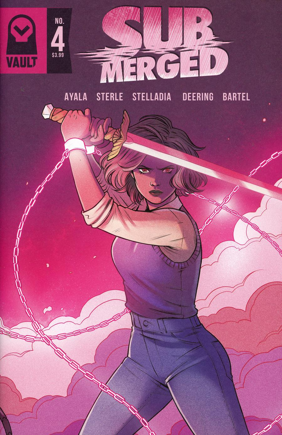 Submerged #4 Cover A Regular Jen Bartel Cover
