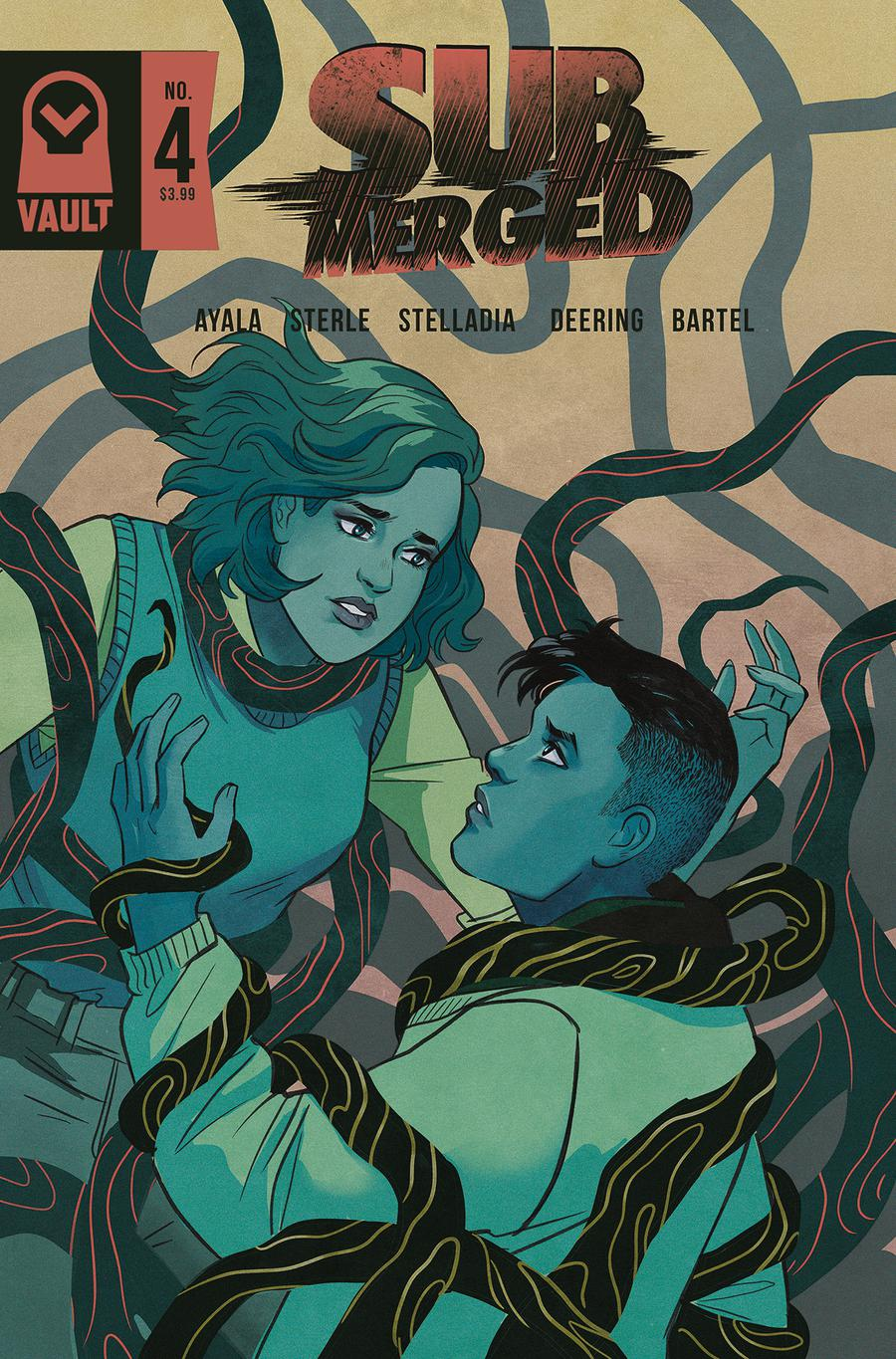 Submerged #4 Cover B Variant Lisa Sterle Cover