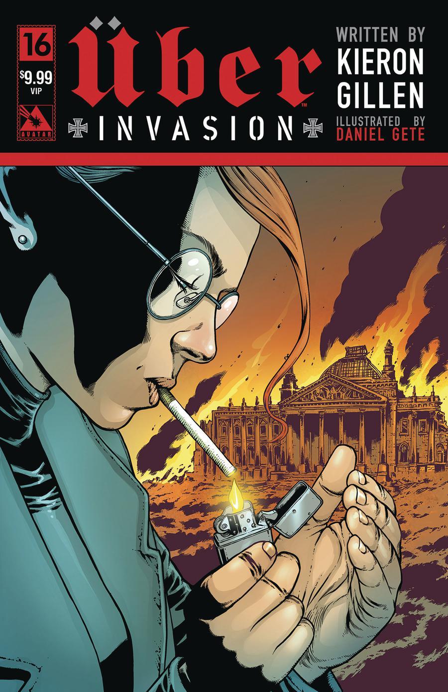 Uber Invasion #16 Cover F VIP Premium Cover