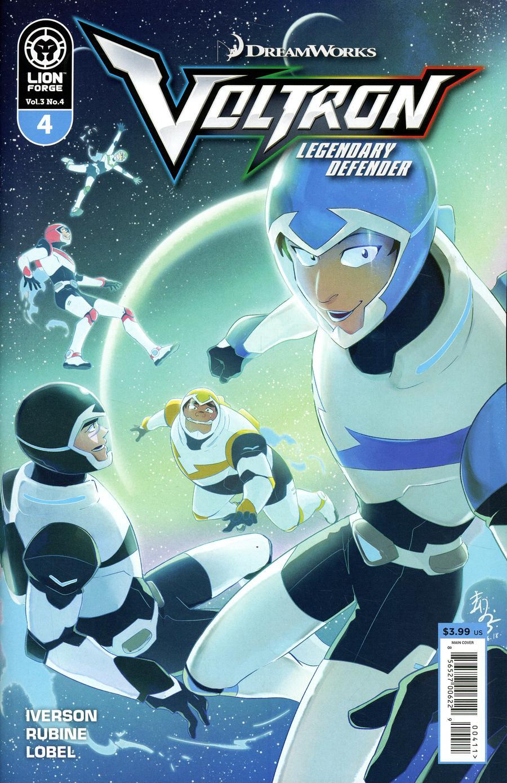 Voltron Legendary Defender Vol 3 #4 Cover A Regular Mariko Yamashin Cover