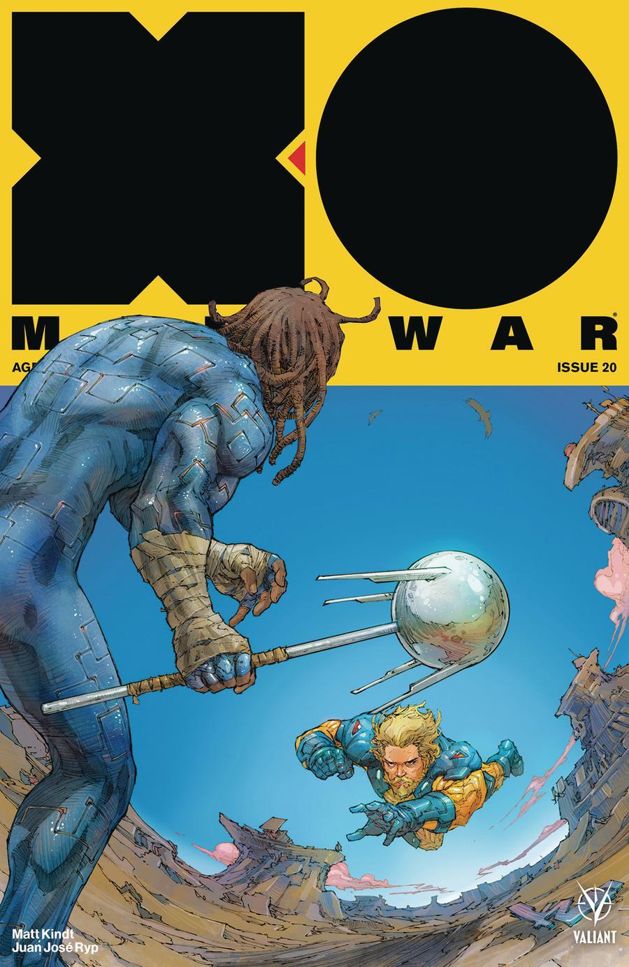 X-O Manowar Vol 4 #20 Cover A Regular Kenneth Rocafort Cover