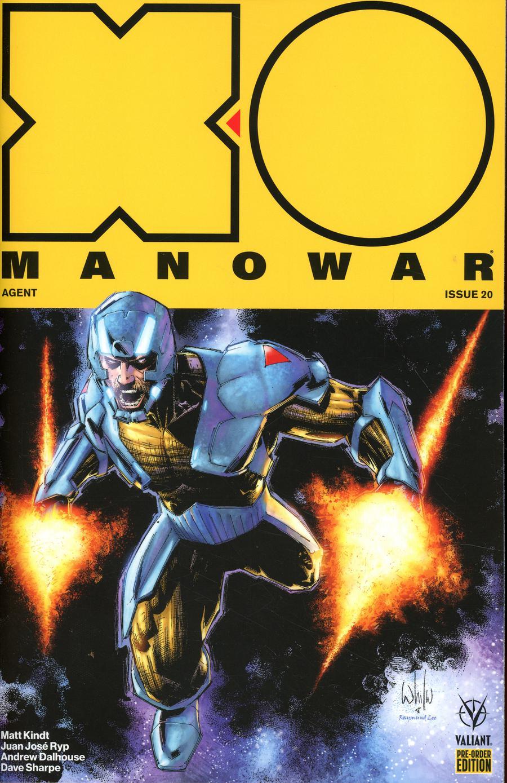 X-O Manowar Vol 4 #20 Cover D Variant Whilce Portacio Cover