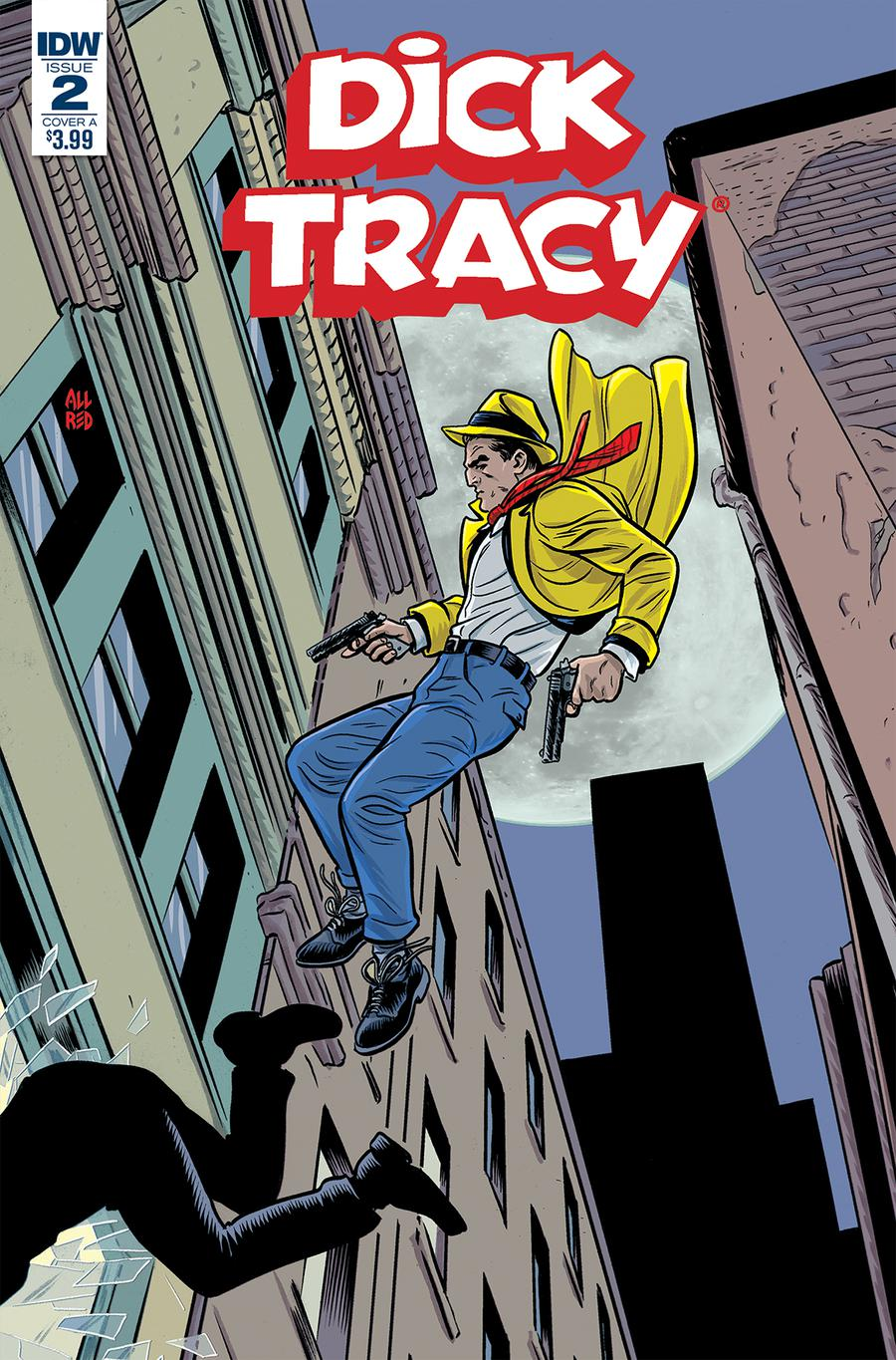 Dick Tracy Dead Or Alive #2 Cover A Regular Michael Allred Cover