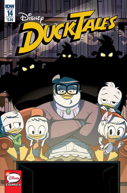 Ducktales Vol 4 #14 Cover A Regular Giuseppe Fontana Cover