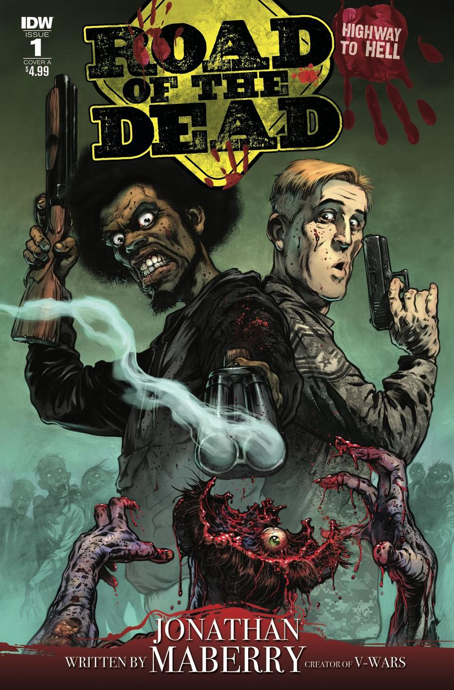 Road Of The Dead Highway To Hell #1 Cover A Regular Santiperez Cover