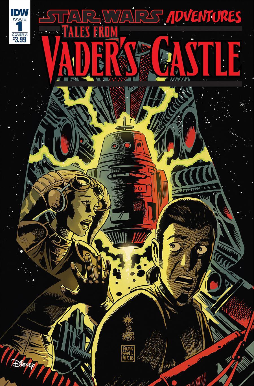 Star Wars Adventures Tales From Vaders Castle #1 Cover A Regular Francesco Francavilla Cover