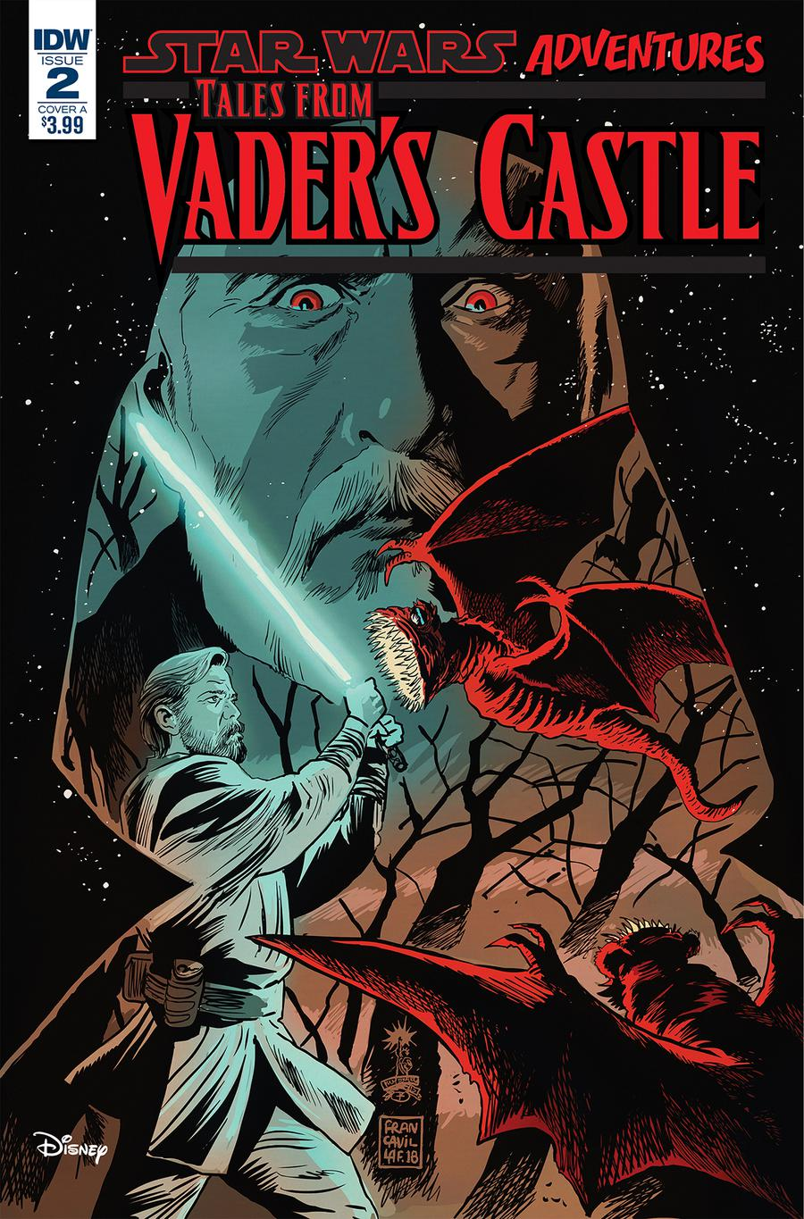 Star Wars Adventures Tales From Vaders Castle #2 Cover A Regular Francesco Francavilla Cover