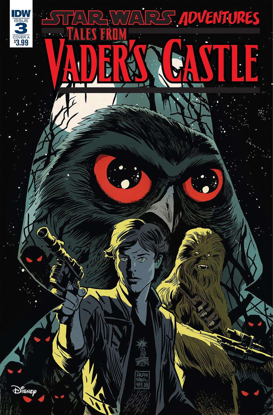 Star Wars Adventures Tales From Vaders Castle #3 Cover A Regular Francesco Francavilla Cover