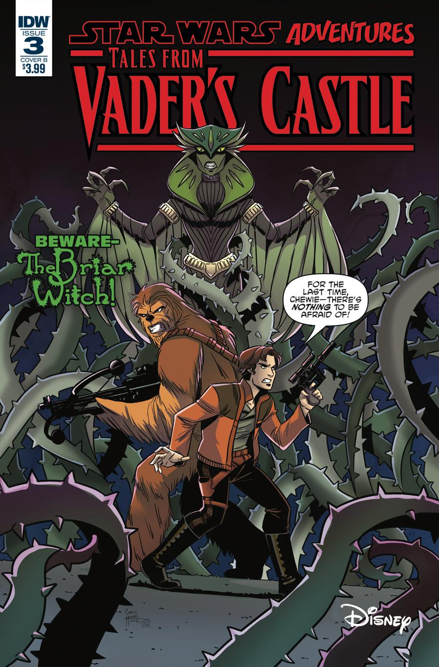 Star Wars Adventures Tales From Vaders Castle #3 Cover B Variant Corin Howell Cover
