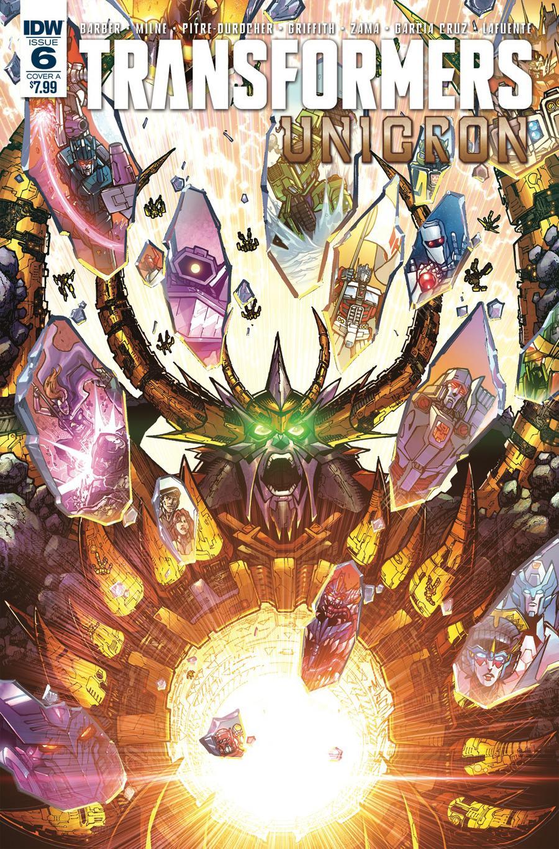 Transformers Unicron #6 Cover A Regular Alex Milne Cover