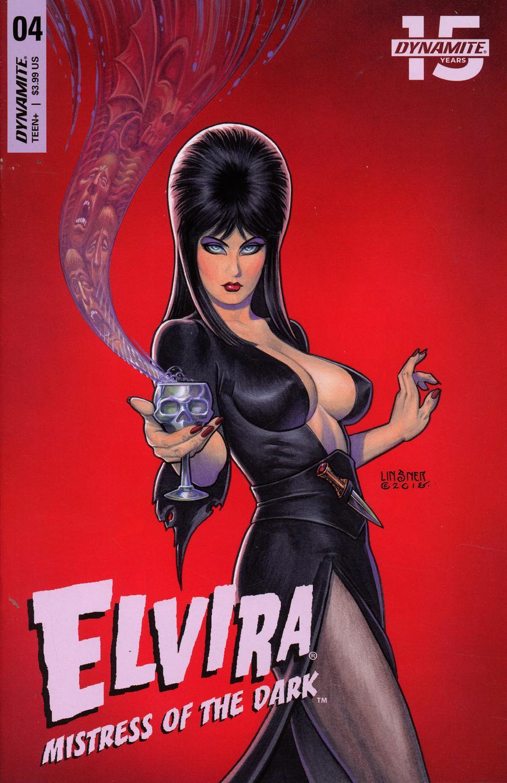 Elvira Mistress Of The Dark Vol 2 #4 Cover A Regular Joseph Michael Linsner Cover