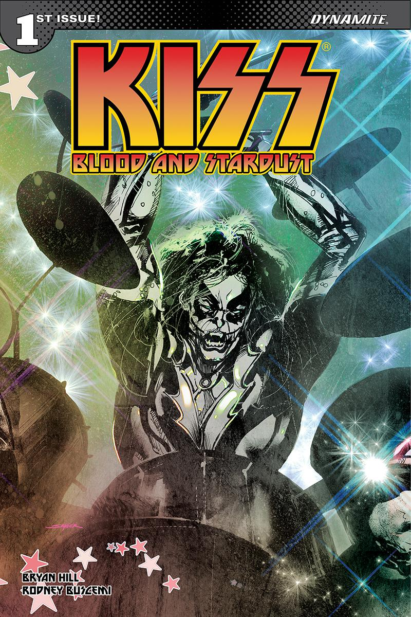 KISS Blood And Stardust #1 Cover C Variant Stuart Sayger Catman Cover