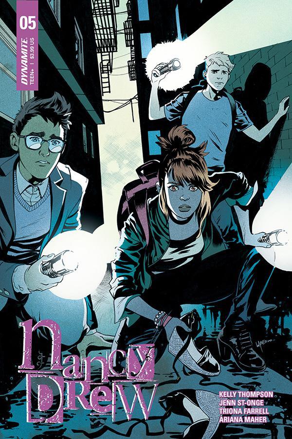 Nancy Drew #5 Cover B Variant Emanuela Lupacchino Cover