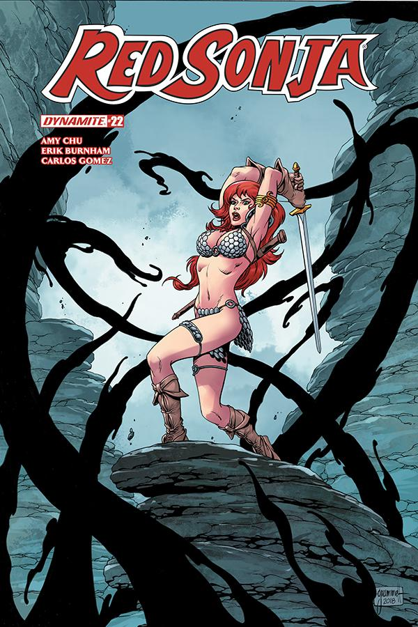 Red Sonja Vol 7 #22 Cover B Variant Tom Grummett Cover