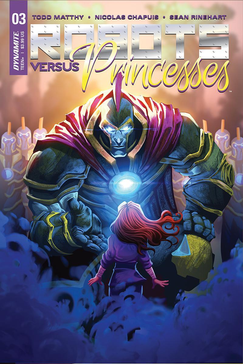 Robots vs Princesses #3 Cover A Regular Nicolas Chapuis Cover