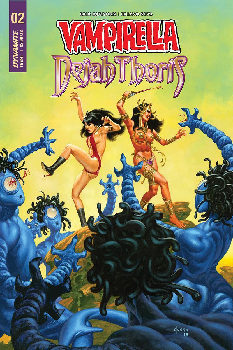 Vampirella Dejah Thoris #2 Cover D Variant Joe Jusko Cover
