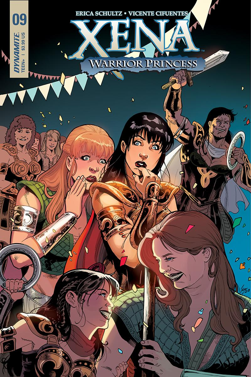 Xena Vol 2 #9 Cover A Regular Vicente Cifuentes Cover