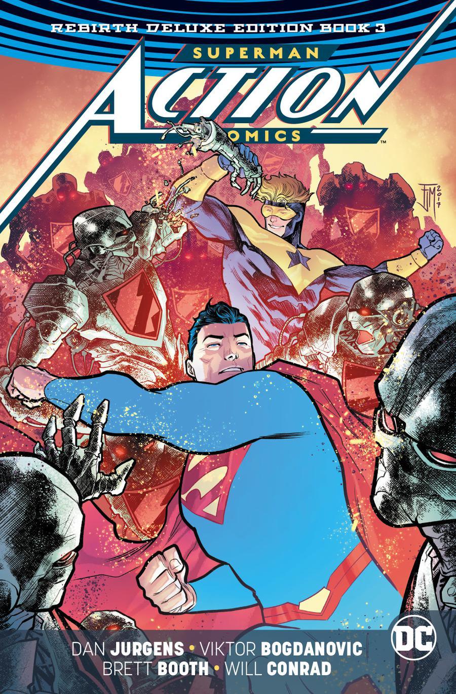 Superman Action Comics Rebirth Deluxe Edition Book 3 HC