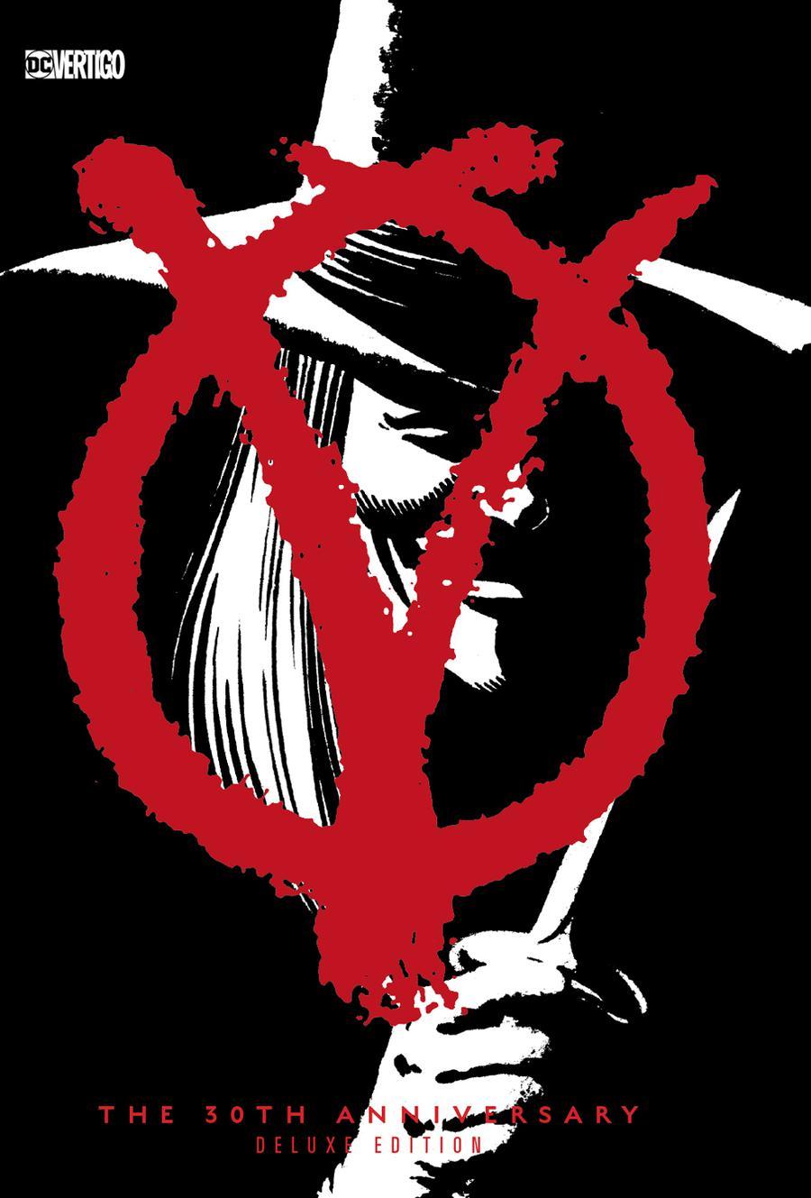 V For Vendetta 30th Anniversary Deluxe Edition HC
