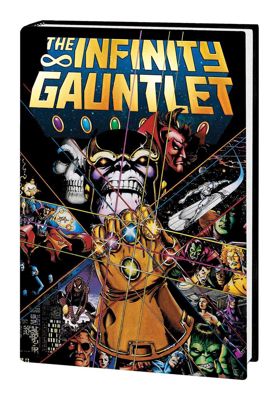 Infinity Gauntlet Deluxe Edition TP