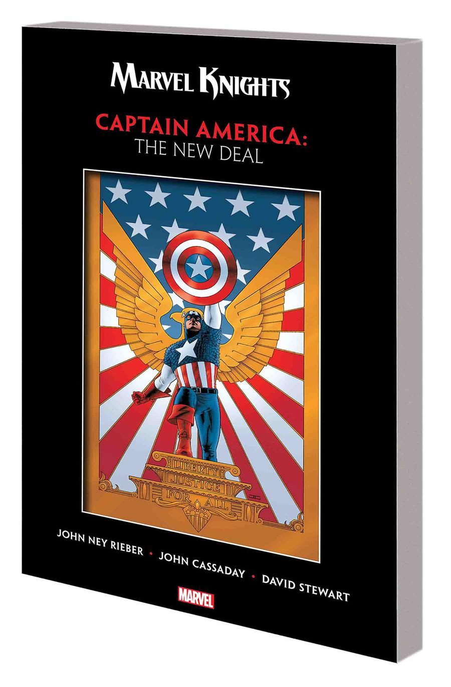 Marvel Knights Captain America By John Ney Rieber & John Cassaday New Deal TP