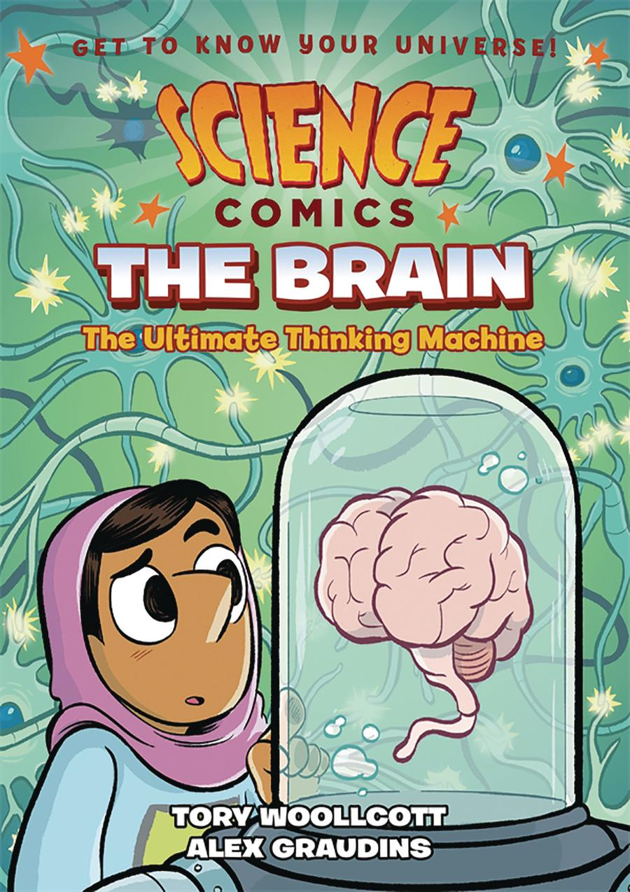 Science Comics The Brain Ultimate Thinking Machine TP
