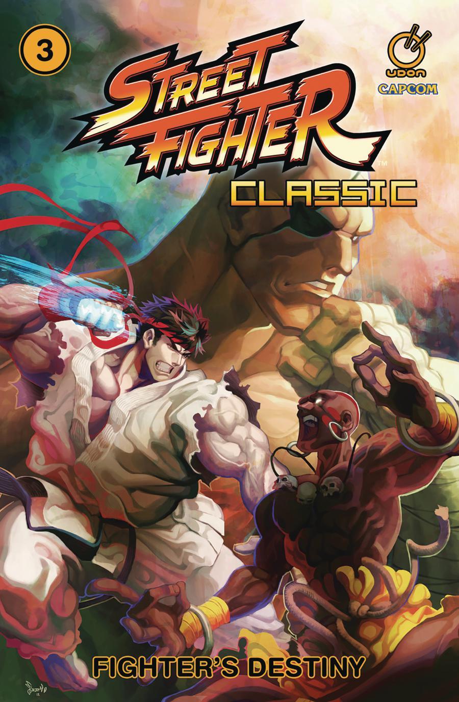 Street Fighter Classic Vol 3 Fighters Destiny TP