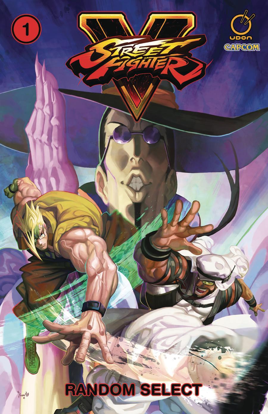 Street Fighter V Vol 1 Random Select TP