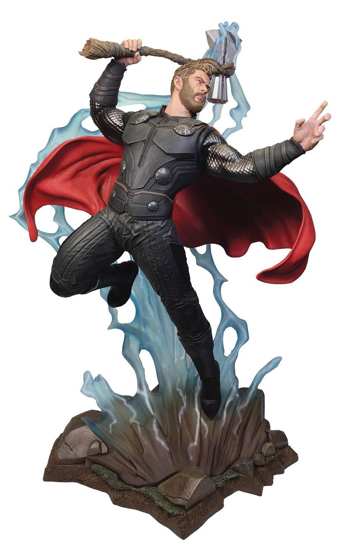 Marvel Movie Milestones Avengers Infinity War Thor Resin Statue