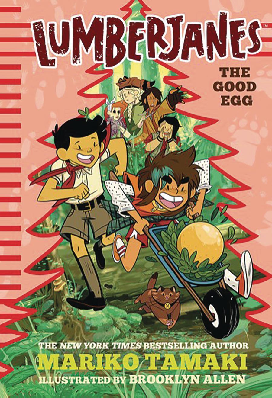 Lumberjanes Illustrated Novel Vol 3 Good Egg HC
