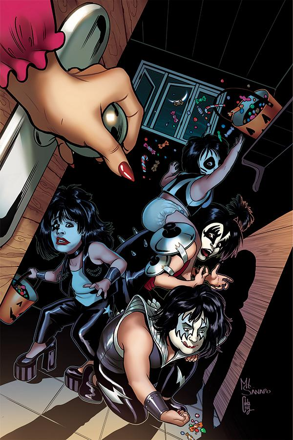 KISS Blood And Stardust #1 Cover K Incentive Maria Sanapo Trick Or Treat Virgin Cover