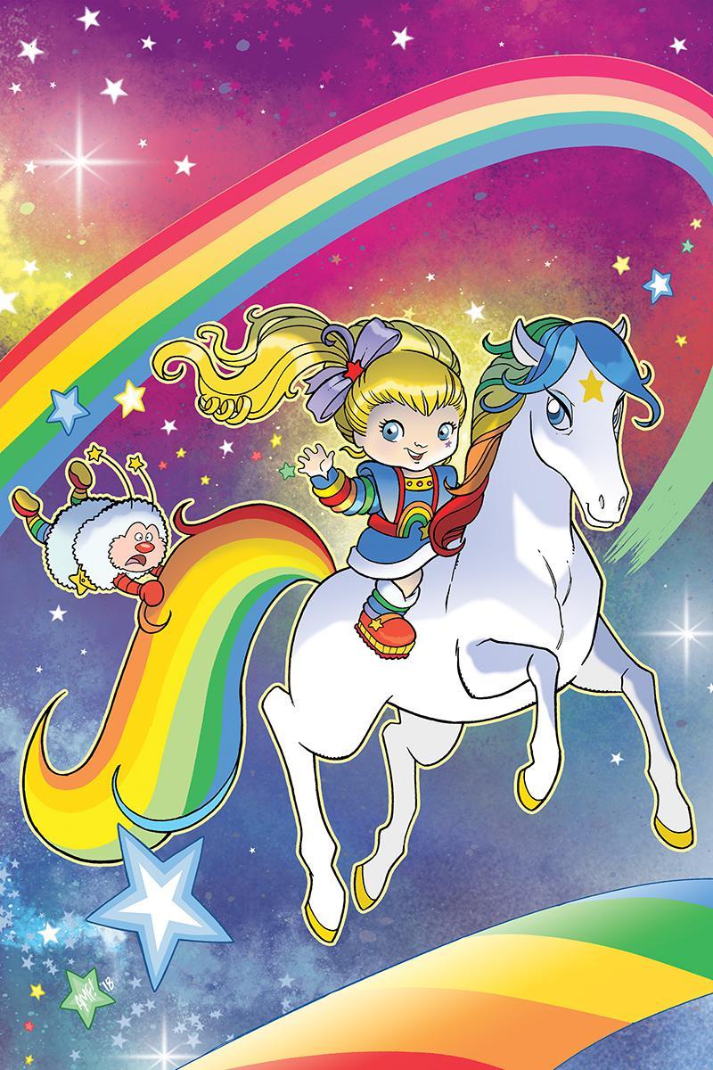 Rainbow Brite #1 Cover E Incentive Tony Fleecs Virgin Cover